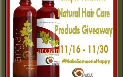 {Giveaway} Maple Holistics Natural Hair Care Products + Super Stocking Stuffer Hop ♥ Did you win? Ends November 30th. Open to US residents ages 18+ only.