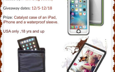 Catalyst iPad, iPhone, & Waterproof Sleeve Cases Giveaway ⚬ Awaiting Winner Announcement