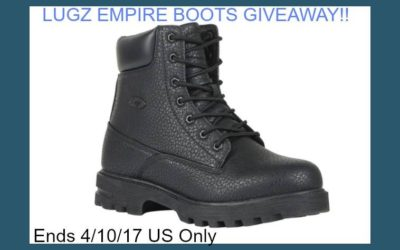 Lugz Empire Hi WR Boots Giveaway (Winner to be Announced)