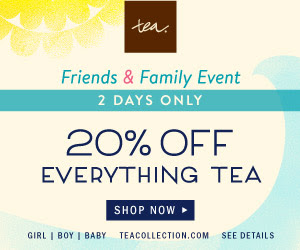 Shop Tea Collection's Friends & Family Sale & Save 20% Off Everything!