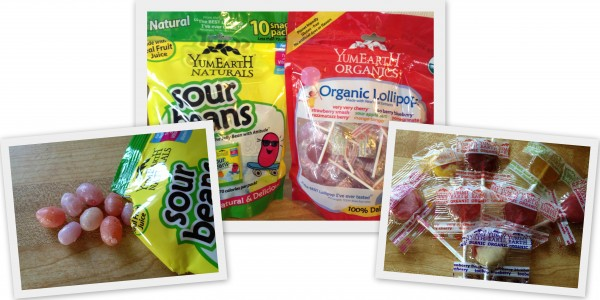 {Food Review} Yum Earth ~ Natural Sour Beans & Organic Lollipops