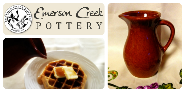 {Review} Emerson Creek Pottery Posie Pitcher