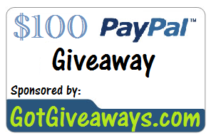 {Giveaway} $100 PayPal Cash (5/12-5/26)