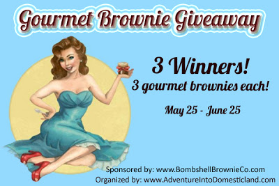 {Giveaway} Bombshell Brownies ~ 3 Winners (5/25-6/25)