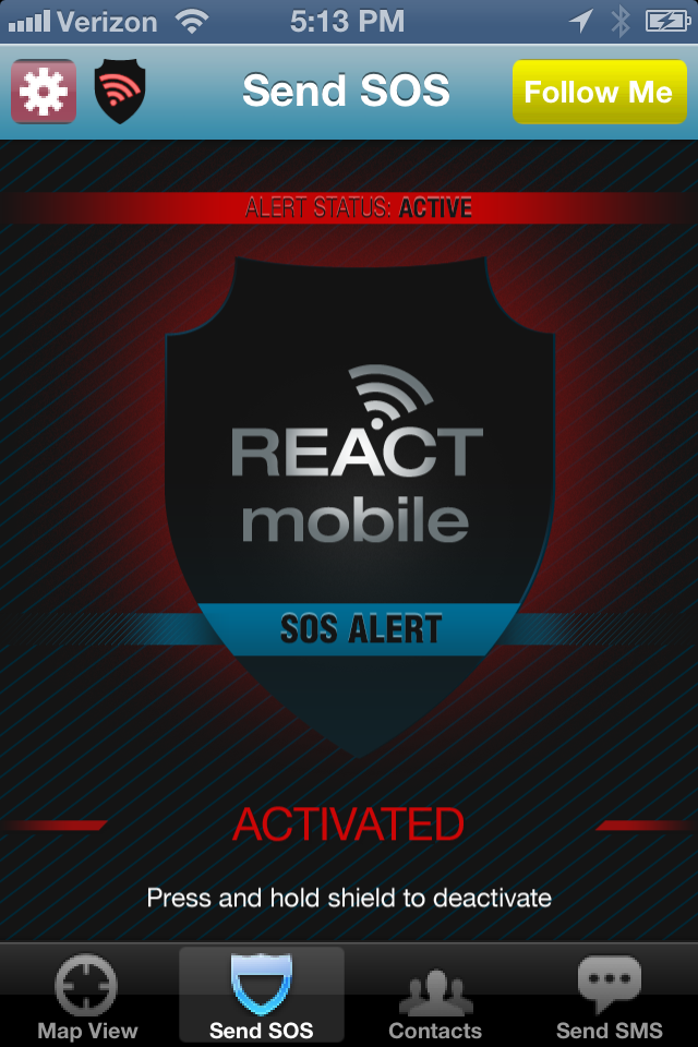 Protect yourself and your family with React!