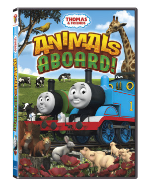 Thomas & Friends: Animals Aboard DVD Review