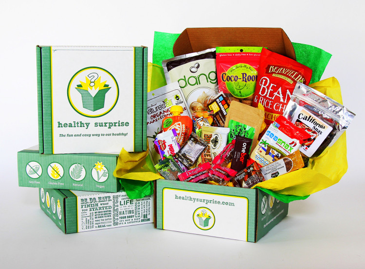 Get Healthy Delivered With Healthy Surprise Subscription Box