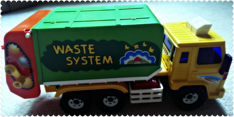 A Fun Toy Recycling Truck from Educational Toys Planet