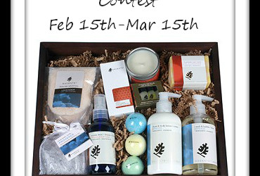 "{Giveaway} ""Live Well""  Aromatherapy Gift Basket ~ $79.95 Value (Feb 15 to Mar 15/ US & CAN)"