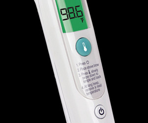 {Review} Braun Forehead Thermometer