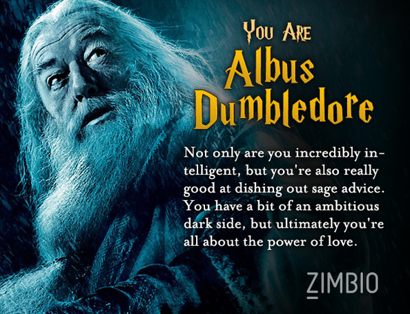 Which Harry Potter character are you?