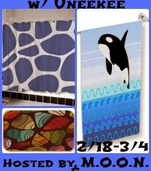 {Free Blogger Opp} Shower in Style ~ Uneekee Shower Curtain, Bath Mat and Towel (Begins Feb 18)