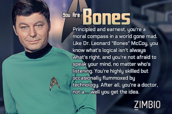 Which Star Trek Character Are You?
