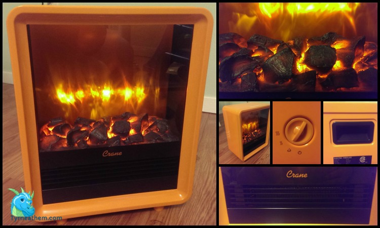 {Review} Crane Electric Mini Fireplace Heater