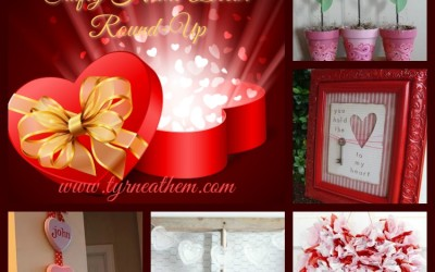 {Pinteresting} Valentine's Day Crafty Home Decor Round-Up