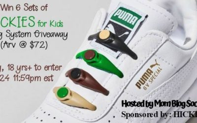 HICKIES for Kids Lacing System Giveaway (Congrats, Mandie!)