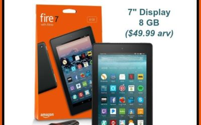 Kindle Fire 7 Table Tablet Giveaway (Congrats, Esperanza!)