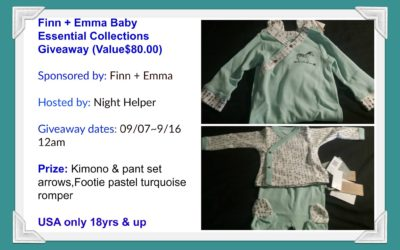 Finn + Emma Baby Essential Collection Giveaway (Congrats, Kelly!)