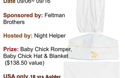 Feltman Brothers PIMA Baby Collection Giveaway (Congrats, Heather!)