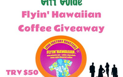 Java Factory Flyin' Hawaiian Coffee Giveaway (Winner to be Announced)
