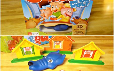 3 Little Pigs Board Game Review