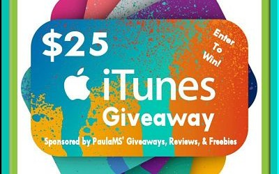 {Giveaway} $25 iTunes Gift Card & This or That Hop Ends December 15th. Open to US residents ages 18+ only. $25 value.