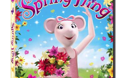 {Movie Release & Giveaway} Angelina Ballerina: Spring Fling ~ $14.98 Value (March 12 to 26/ US Only)