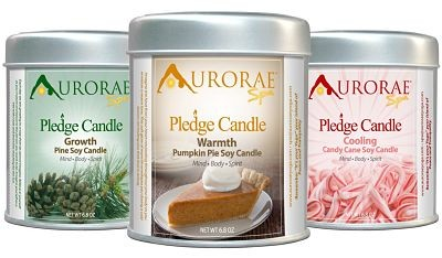 {Giveaway & Hop} Aurorae Scented Soy Wax Candle Gift Set + Christmas Shopping Hop Ends December 14th. Open to US residents ages 18+ only. $55 value.