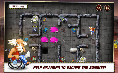 Grandpa battles #zombies in today's #FREE app for Android & Kindle!