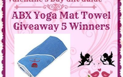 Enter to Win the ABX Yoga Mat Towel Giveaway ⚬ Ends February 14