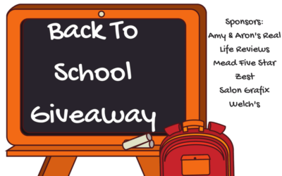 Back to School Prize Pack Giveaway featuring Mead, Zest, Salon Grafix, Welch's & PayPal (Congrats, Penny!)