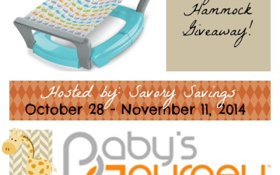 Sweet Baby Bath Hammock #giveaway! Enter to #win a baby bath hammock from Baby's Journey! (Ends Nov 11)