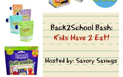 It's a #BackToSchool Bash! Enter to #win a school lunch prize pack #giveaway! (Aug 19 to Sep 2/ US)
