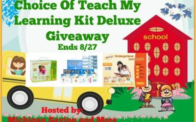 Back To School Choice Of Teach My Learning Kit Deluxe Giveaway ⚬ Congrats Monique!