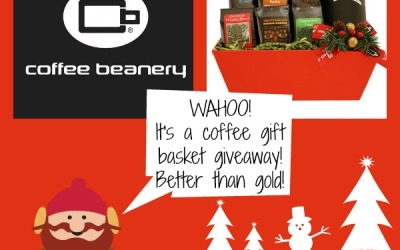 Coffee Beanery #giveaway! Enter to #win a basket full of coffee samples and a travel mug! (Ends Dec 8)