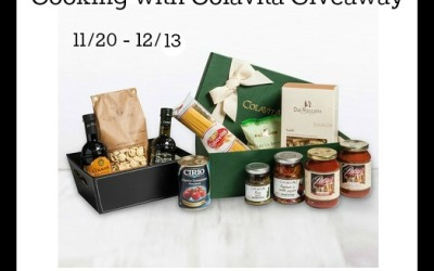 Cooking with Colavita #giveaway! Enter to #win a Colavita Simply Italian Gift Basket valued at $75! (Ends Dec 13)