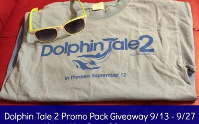 Would you like to swim away with a #win? Enter the Dolphin Tale 2 Promo Pack #giveaway! (Ends Sep. 27)