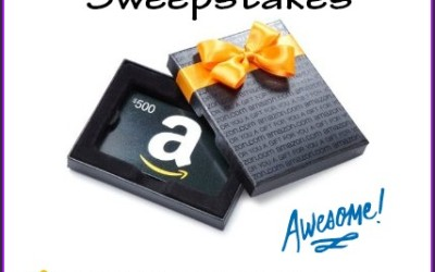 Did you see this amazing #giveaway? Enter to #win a $500 Amazon Gift Card! (Aug 8 to Sep 7/ US & CAN)