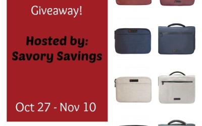 An ECBC #giveaway! Enter to #win a messenger bag & tablet sleeve in your choice of color! (Ends Nov 10)