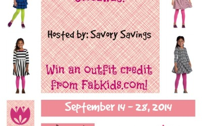 Did you see this fab chance to #win? Enter the FabKids Fall Outfit #giveaway! (Ends Sep. 28)