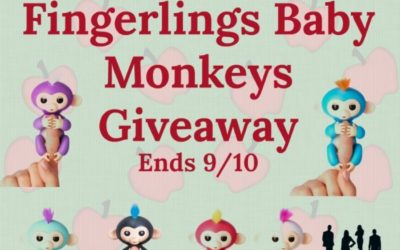 Fingerlings Baby Monkeys Giveaway (Congrats, J!)