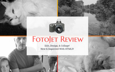 A Review of FotoJet Browser Based HTML 5 Photo Editor & Design App