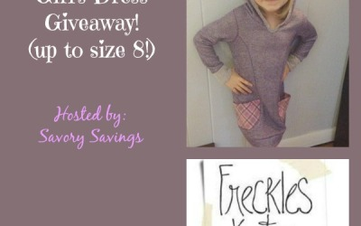 Did you see this Freckles + Kitty #giveaway? Enter to #win an adorable & fashionable girl's dress! (Ends Oct 27)