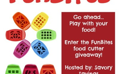 Don't miss this #giveaway! Enter to #win a FunBites food cutter! (Jul 11 to 25/ US)