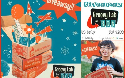 Did you see this Groovy Lab in a Box #giveaway? Enter to #win a 1-Year Subscription to Groovy Lab in a Box! (Ends Nov 4)