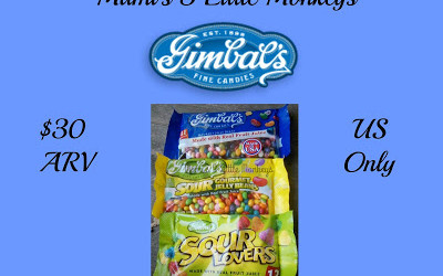 {Giveaway} Gimbal's Fine Candies ~ Did you win? Ends November 19th. Open to US residents ages 18+ only. $30 approximate value.