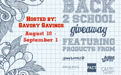 Don't miss this #giveaway! Enter to #win an assortment of socially responsible prizes valued at over $300! (Aug 18 to Sep 1/ US)