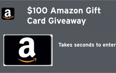 $100 Amazon Gift Card Giveaway (Congrats, Pam!)