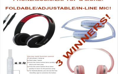 Gorsun's Multi-function Stereo Headphones Giveaway with 3 Winners ⚬ Awaiting Winner Announcement