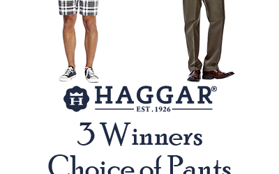 Haggar Pants or Shorts Giveaway (Congrats, James, Robin, & Tammy!)